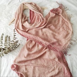 Accessories - Pink Pashmina Scarf